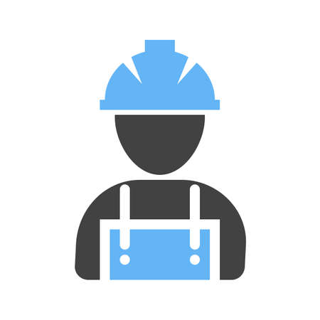 building site: Workers, helmet, site icon vector image. Can also be used for construction, intertiors and building. Suitable for use on web apps, mobile apps and print media.