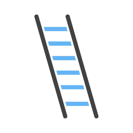Ladder, construction, building icon vector image. Can also be used for construction, interiors and building. Suitable for use on web apps, mobile apps and print media.