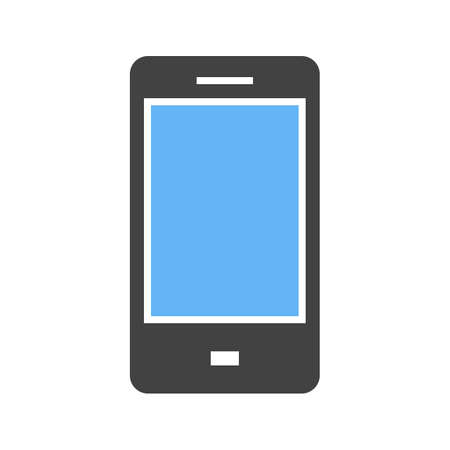 phone symbol: Phone, mobile, smartphone icon vector image. Can also be used for mobile apps, phone tab bar and settings. Suitable for use on web apps, mobile apps and print media Illustration