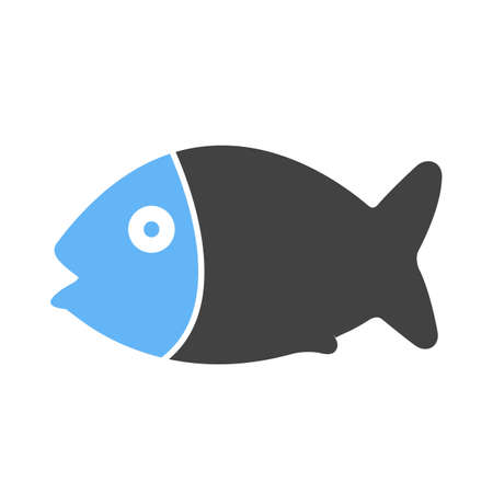 fillet: Fish, seafood, fillet icon vector image. Can also be used for eatables, food and drinks. Suitable for use on web apps, mobile apps and print media