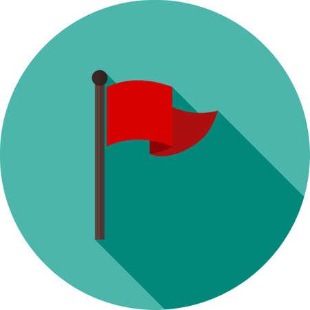 bandera carreras: Bandera, la raza, el icono de las carreras imagen vectgor. También se puede utilizar para el transporte, el transporte y los viajes. Adecuado para aplicaciones móviles, aplicaciones web y medios impresos.