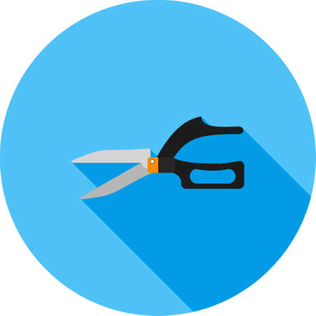 pruning: shear, clipper, trimmer icon vector image. Can also be used for construction, interiors and building. Suitable for use on web apps, mobile apps and print media.