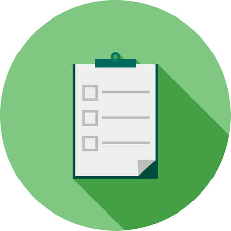 quiz test: Quiz, competition, exam icon vector image. Can also be used for education, academics and science. Suitable for use on web apps, mobile apps and print media.