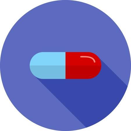 blisters: Medicina, medico, immagine vettoriale compresse icona. Pu� essere utilizzato anche per l'assistenza sanitaria e medica. Adatto per applicazioni mobili, applicazioni web e supporti di stampa.