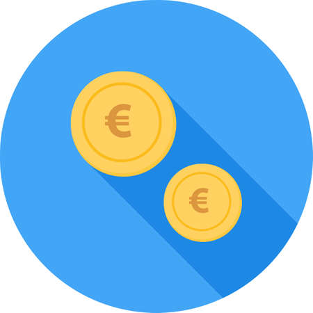 banking and finance: Currency, euro, pound, dollar icon vector image.Can also be used for banking, finance, business. Suitable for web apps, mobile apps and print media.