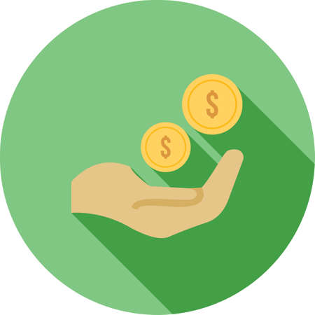 banking and finance: Monetary, funds, money, icon vector image.Can also be used for banking, finance, business. Suitable for web apps, mobile apps and print media. Illustration