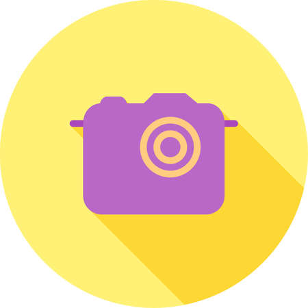 snapshots: Camera, image, pictures icon vector image. Can also be used for phone and communication. Suitable for use on web apps, mobile apps and print media.
