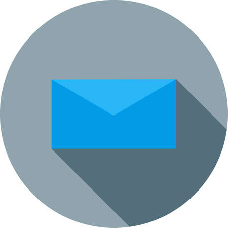Mail, message, inbox icon vector image. Can also be used for phone and communication. Suitable for use on web apps, mobile apps and print media.