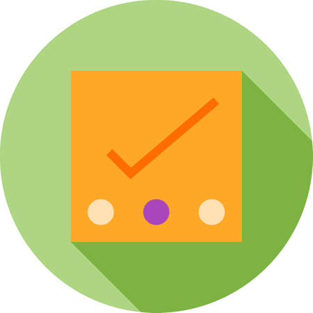 tasks: Reminders, tasks, notes icon vector image. Can also be used for phone and communication. Suitable for use on web apps, mobile apps and print media.