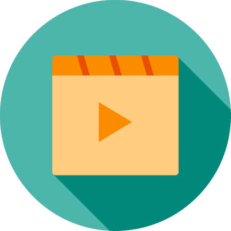 snapshots: Videos, recorders, movie icon vector image. Can also be used for phone and communication. Suitable for use on web apps, mobile apps and print media. Illustration