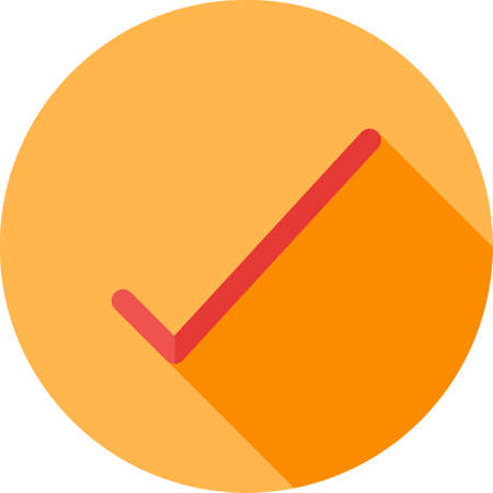 valid: Tick, list, checked icon vector image. Can also be used for phone and communication. Suitable for use on web apps, mobile apps and print media. Illustration