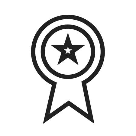 first rate: Ranking, star, ribbon, award icon vector image. Can also be used for SEO, digital marketing, technology. Suitable for web apps, mobile apps and print media. Illustration