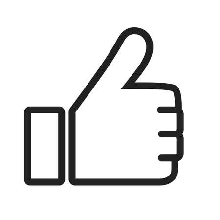 face book: Al igual que, sociales, facebook icono de vector tambi�n image.Can ser utilizado para la interfaz de usuario. Adecuado para aplicaciones m�viles, aplicaciones web y medios impresos.
