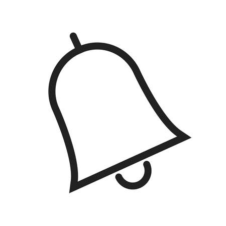 call bell: Bell, notification, call icon vector image. Can also be used for education, academics and science. Suitable for use on web apps, mobile apps, and print media.
