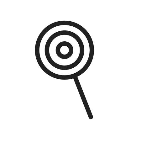 lollies: Candy, sweet, lollipop icon vector image. Can also be used for summer, recreation and fun. Suitable for use on mobile apps, web apps and print media. Illustration