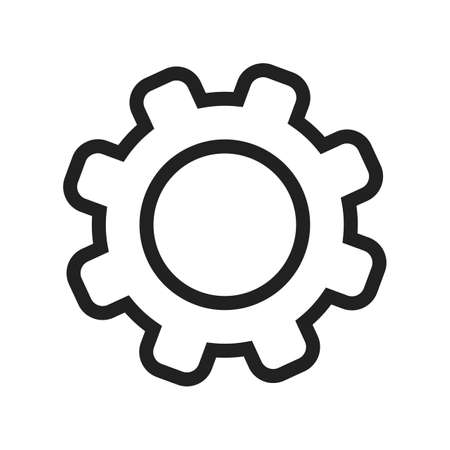 controls: Settings, controls, options icon vector image. Can also be used for phone and communication. Suitable for use on web apps, mobile apps and print media. Illustration
