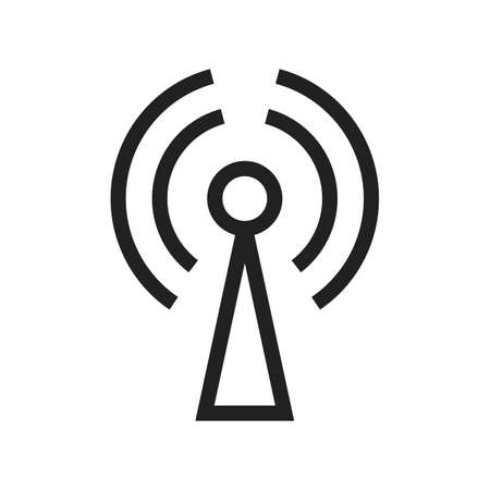 gprs: GPRS, technology, mobile icon vector image. Can also be used for phone and communication. Suitable for use on web apps, mobile apps and print media. Illustration