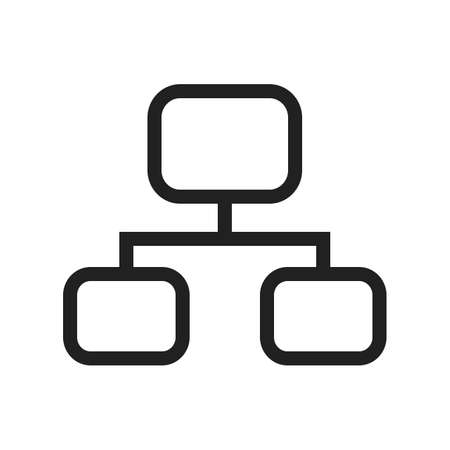Network, ethernet, internet icon vector image. Can also be used for computer and hardware. Suitable for use on web apps, mobile apps and print media.
