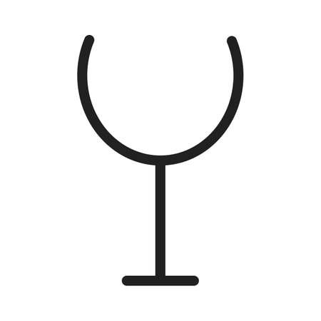 Wine, champagne, goblet icon vector image. Can also be used for eatables, food and drinks. Suitable for use on web apps, mobile apps and print media