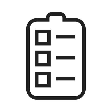 assignment: Task, assignment, job icon vector image.Can also be used for admin dashboard. Suitable for mobile apps, web apps and print media.