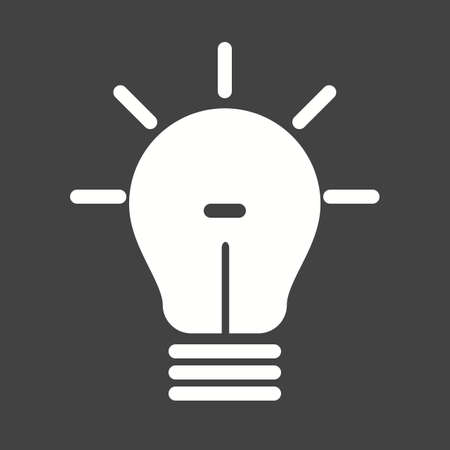 adverts: Bulb, electric, idea, promotion icon vector image. Can also be used for seo, digital marketing, technology. Suitable for use on web apps, mobile apps and print media.