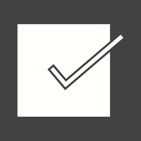 to accept: Accept, check, check mark, checklist icon vector image. Can also be used for education, academics and science. Suitable for use on web apps, mobile apps and print media.
