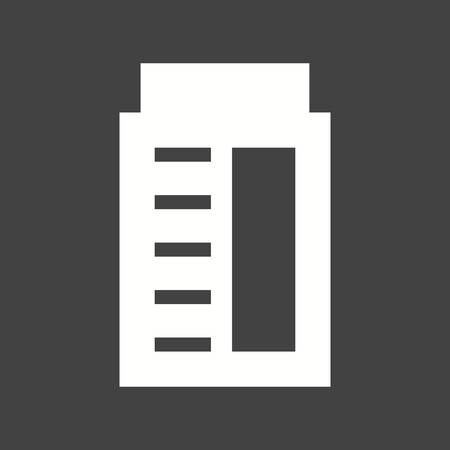 office building: Building, office, business icon vector image.  Illustration
