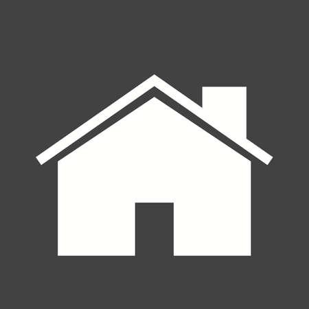 家、家、不動産のアイコンのベクトル画像
