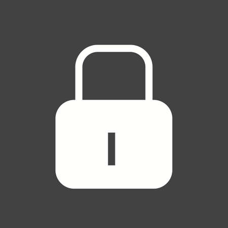 protect icon: Lock, security, protect icon vector image.
