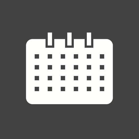 appointments: Dates, event, days icon vector image Illustration