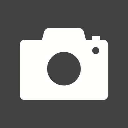 영상: 카메라, 사진, 이미지 아이콘 벡터 이미지. 일러스트