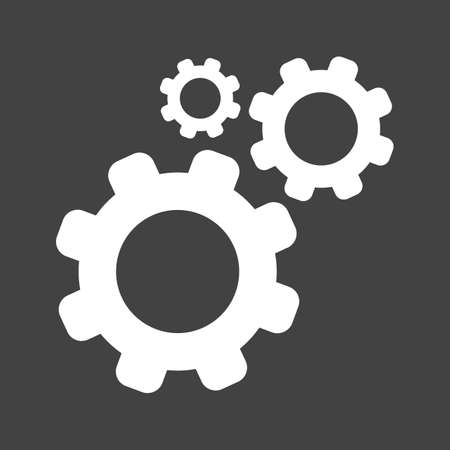 configure: Settings, options, configure icon vector image