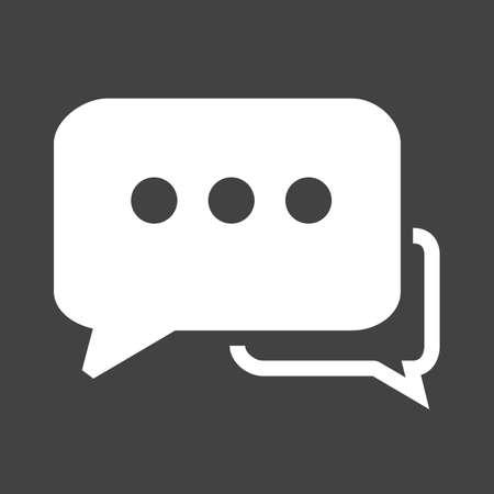 tweet: Message, attention,tweet icon vector image.