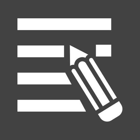 modificar: Editar, cancelación, imagen del vector icono de quitar