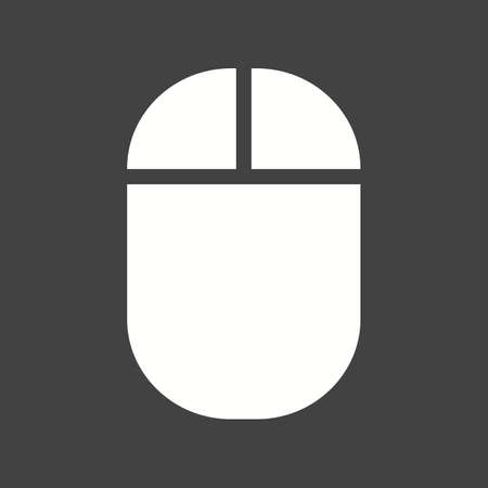 mouse click: Mouse, click, pointer, icon vector image.  .
