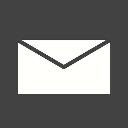 envelop: Mail, message, inbox icon vector image. Can also be used for phone and communication. Suitable for use on web apps, mobile apps and print media.