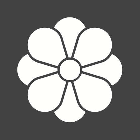 fragrance: Flower, rose, petals icon vector image.Can also be used for christmas, celebrations, observances and holidays. Suitable for use on web apps, mobile apps and print media.