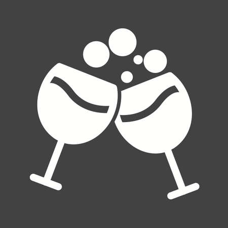 carbonated beverage: Drink, party, bottle icon vector image.Can also be used for valentine, love, observances and holidays. Suitable for mobile apps, web apps and print media.