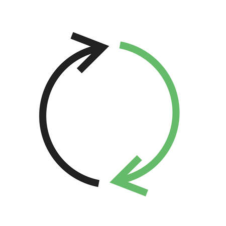 reverse: Synchronize, refresh, reload icon vector image. Can also be used for seo, digital marketing, technology. Suitable for use on web apps, mobile apps and print media.
