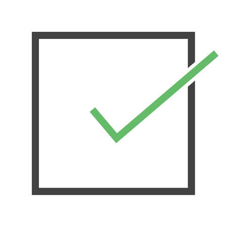 check icon: Accept, check, check mark, checklist icon vector image. Can also be used for education, academics and science. Suitable for use on web apps, mobile apps, and print media.