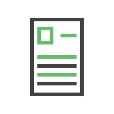 questionaire: Forms, report, questionaire icon vector image. Can also be used for education, academics and science. Suitable for use on web apps, mobile apps, and print media. Vectores