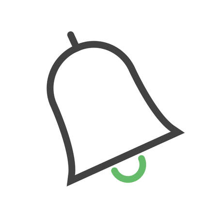 Bell, notification, call icon vector image. Can also be used for education, academics and science. Suitable for use on web apps, mobile apps, and print media.