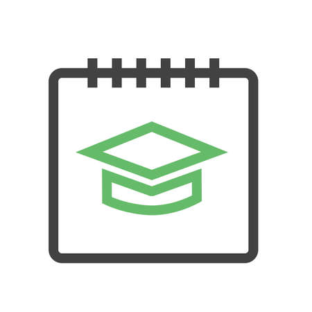 notify: Timetable, schedule, event, notification,icon vector image. Can also be used for education, academics and science. Suitable for use on web apps, mobile apps, and print media.