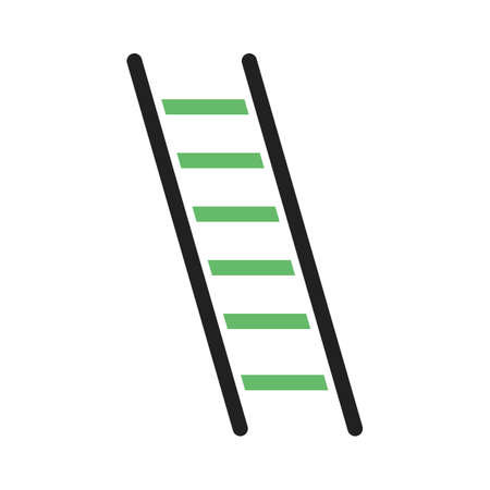 interiors: Ladder, construction, building icon vector image. Can also be used for construction, interiors and building. Suitable for use on web apps, mobile apps and print media.