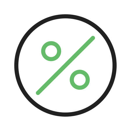 fraction: Percentage, portion, fraction icon vector image.Can also be used for banking, finance, business. Suitable for web apps, mobile apps and print media.
