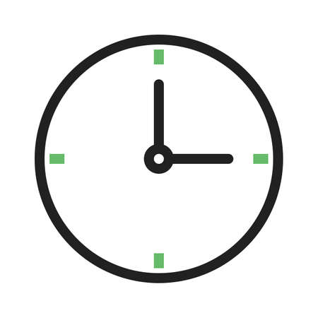 banking and finance: Clock, time, watch, icon vector image.Can also be used for banking, finance, business. Suitable for web apps, mobile apps and print media.