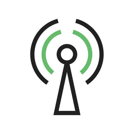 mobile communication: GPRS, technology, mobile icon vector image. Can also be used for phone and communication. Suitable for use on web apps, mobile apps and print media. Stock Photo
