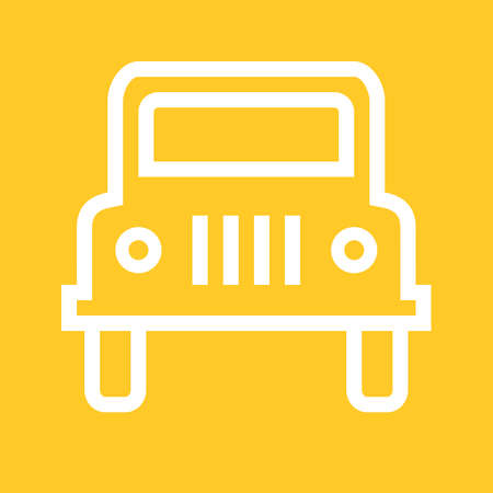wrangler: Wangler, car, vehicle icon vectgor image. Can also be used for transport, transportation and travel. Suitable for mobile apps, web apps and print media.