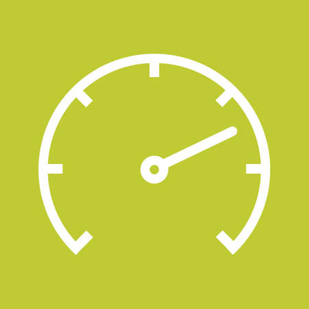 car speed: Speedometer, car, speed icon vectgor image. Can also be used for transport, transportation and travel. Suitable for mobile apps, web apps and print media. Illustration