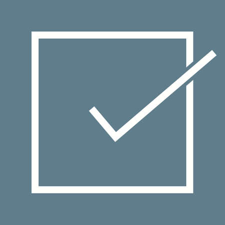 to accept: Accept, check, check mark, checklist icon vector image. Can also be used for education, academics and science. Suitable for use on web apps, mobile apps, and print media.
